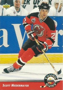 1992 93 Upper Deck Young Guns Scott Niedermayer 213x300 Image