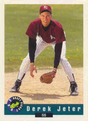 Derek Jeter Minor League And Prospect Card Checklist