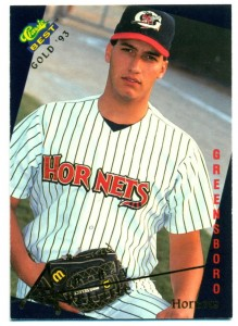 Andy Pettitte Minor League Baseball Card Guide 5