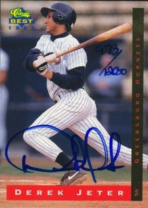 Derek Jeter Minor League Cards Guide  25