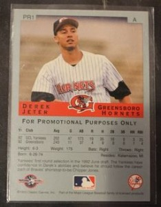 Derek Jeter Minor League Cards Guide  24