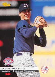 Andy Pettitte Minor League Baseball Card Guide 9