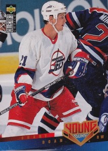 1995 96 Collectors Choice Young Guns Shane Doan 214x300 Image