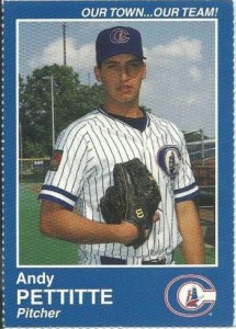 Andy Pettitte Minor League Baseball Card Guide 13