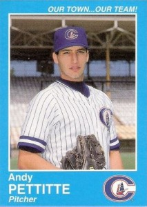 Andy Pettitte Minor League Baseball Card Guide 12