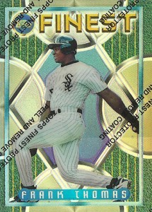 Topps Finest Baseball Design History and Visual Timeline 3