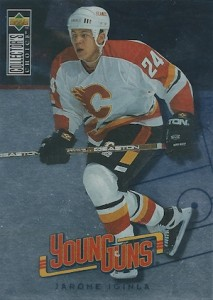 1996 97 Collectors Choice Young Guns Jarome Iginla 213x300 Image