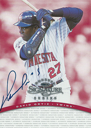 Big Papi! Top David Ortiz Rookie Cards and Other Early Cards 12