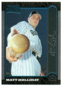 1999 Bowman Chrome Matt Holliday