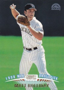 1999 Stadium Club Matt Holliday