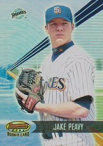 2001 Bowman's Best Jake Peavy RC