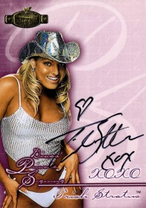 Trish Stratus Wrestling Cards, Autograph and Memorabilia Guide 3