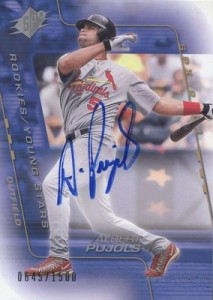Albert Pujols Baseball Cards, Rookie Card Checklist, Autograph Guide 3