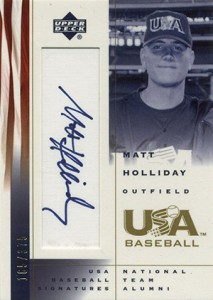 Matt Holliday Baseball Cards, Rookie Card Checklist, Autograph Guide 6
