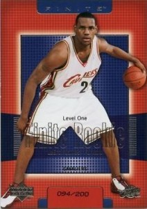 LeBron James Basketball Cards, Rookie Cards Checklist and Memorabilia Guide 2