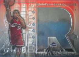 LeBron James Basketball Cards, Rookie Cards Checklist and Memorabilia Guide 1