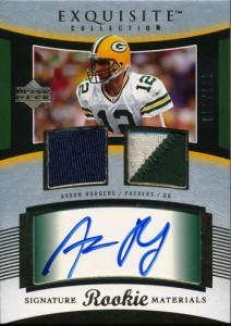 2005 Exquisite Aaron Rodgers