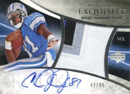 Top 10 Calvin Johnson Rookie Cards of All-Time 10