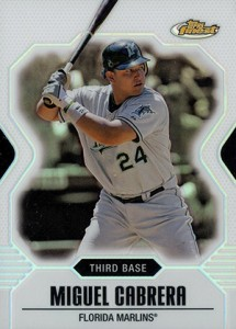 Topps Finest Baseball Design History and Visual Timeline 24