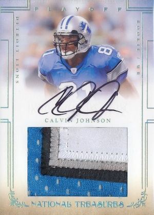 Top Calvin Johnson Rookie Cards to Collect 11