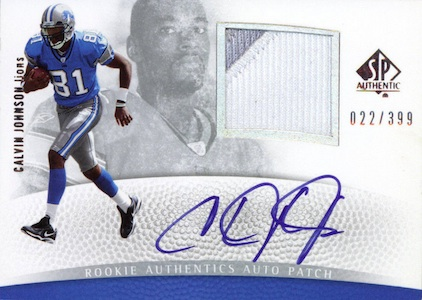 Top 10 Calvin Johnson Rookie Cards of All-Time 7