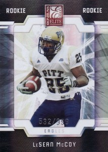 LeSean McCoy Cards and Memorabilia Guide 2