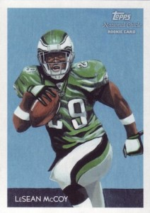 LeSean McCoy Cards and Memorabilia Guide 1