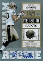 Jimmy Graham Rookie Cards Guide