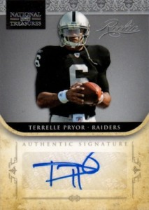Terrelle Pryor Cards and Memorabilia Guide 3