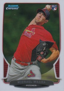 2013 Bowman Chrome Michael Wacha RC