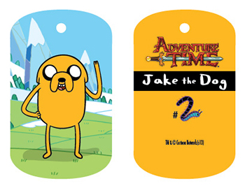 2013 Cryptozoic Adventure Time Dog Tags Series 1 7