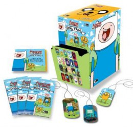 2013 Cryptozoic Adventure Time Dog Tags Box