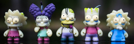 2013 Kidrobot Simpsons Treehouse of Horror Vinyl Figures 35