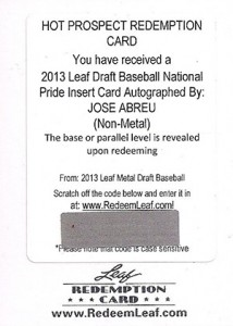 Jose Abreu Rookie Card and Prospect Card Guide 33