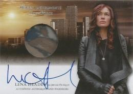 2013 Leaf The Mortal Instruments: City of Bones Autograph Guide 22