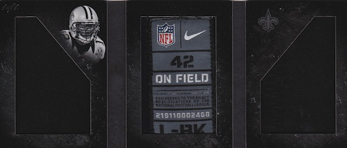 2013 Panini Playbook Football Highlights, Hits Tracker and Hot List 11