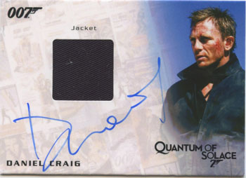 2013 Rittenhouse James Bond Autographs and Relics Trading Cards 32