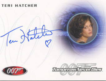 2013 Rittenhouse James Bond Autographs and Relics Trading Cards 20