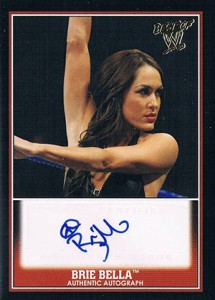 2013 Topps Best of WWE Autographs Guide 2