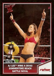 2013 Topps Best of WWE Wrestling Cards 21