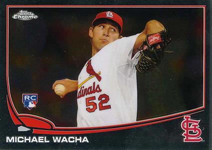 2013 Topps Chrome Michael Wacha RC