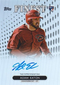 2013 Topps Finest Baseball Rookie Autographs Guide 1