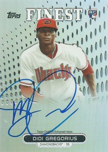 2013 Topps Finest Baseball Rookie Autographs Guide 16