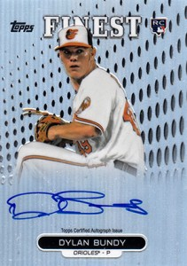 2013 Topps Finest Baseball Rookie Autographs Guide 4