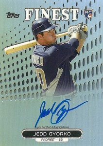 2013 Topps Finest Baseball Rookie Autographs Guide 7