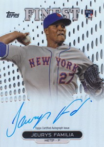 2013 Topps Finest Baseball Rookie Autographs Guide 6