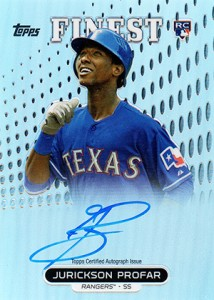 2013 Topps Finest Baseball Rookie Autographs Guide 8