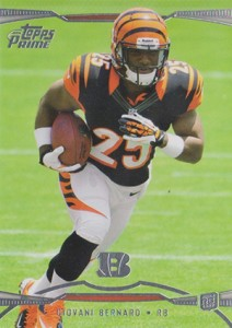 Giovani Bernard Rookie Card Checklist and Guide 13