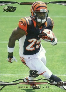 Giovani Bernard Rookie Card Checklist and Guide 12