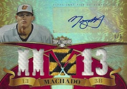 2013 Topps Triple Threads Baseball Drool Gallery and Hot List 4